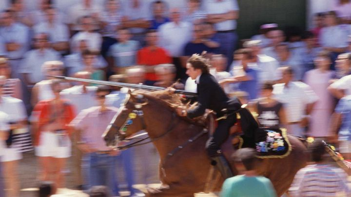 Imagen  Horses are the stars of the Menorca festivities