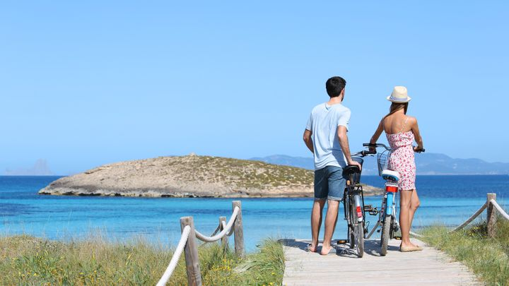 Imagen  Green circuits in Formentera