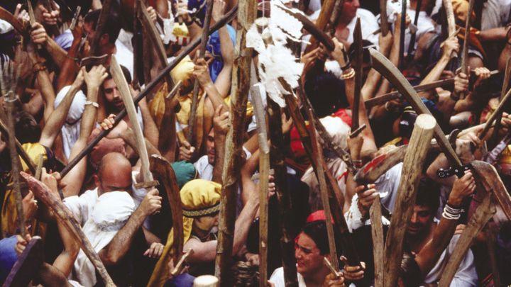 Imagen  Gaudeix de l'aclamada festa d'Es Firó de Sóller