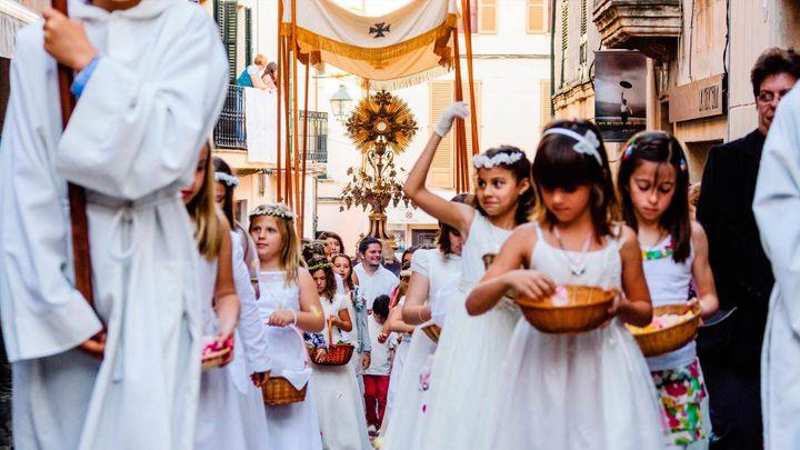 Imagen  El Corpus de Palma, una tradición muy viva