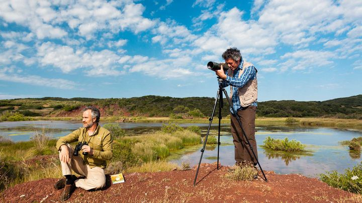 Imagen  Vogelbeobachtung auf Menorca