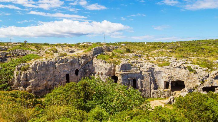 Imagen Necrópolis Cala Morell