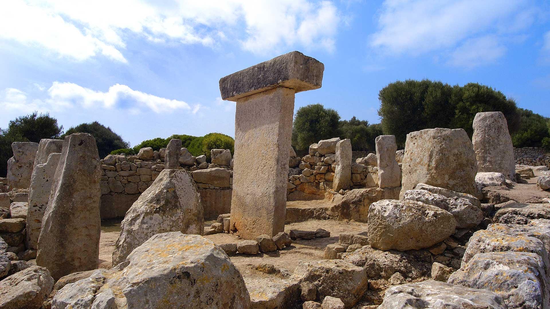 Características de la arqueología de Menorca
