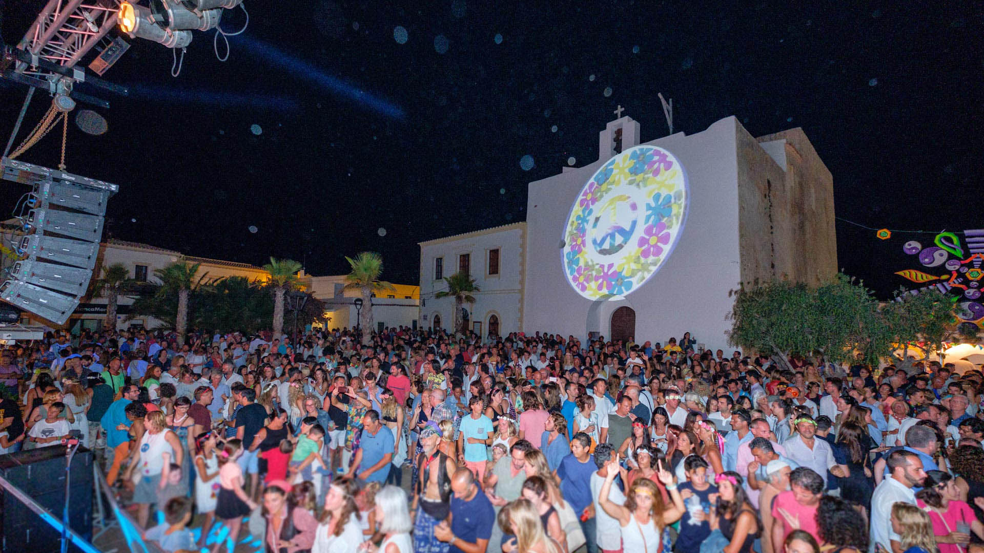 Imagen  Flower power festivals of Formentera