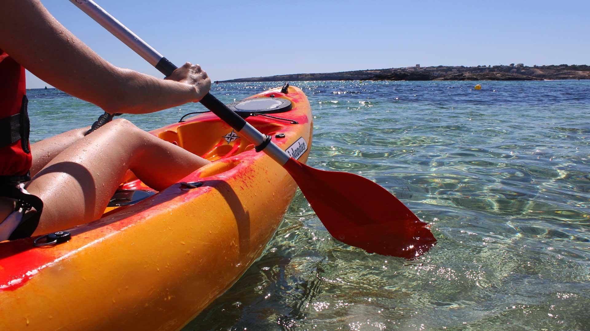 Imagen  Vuelta a Formentera en kayak