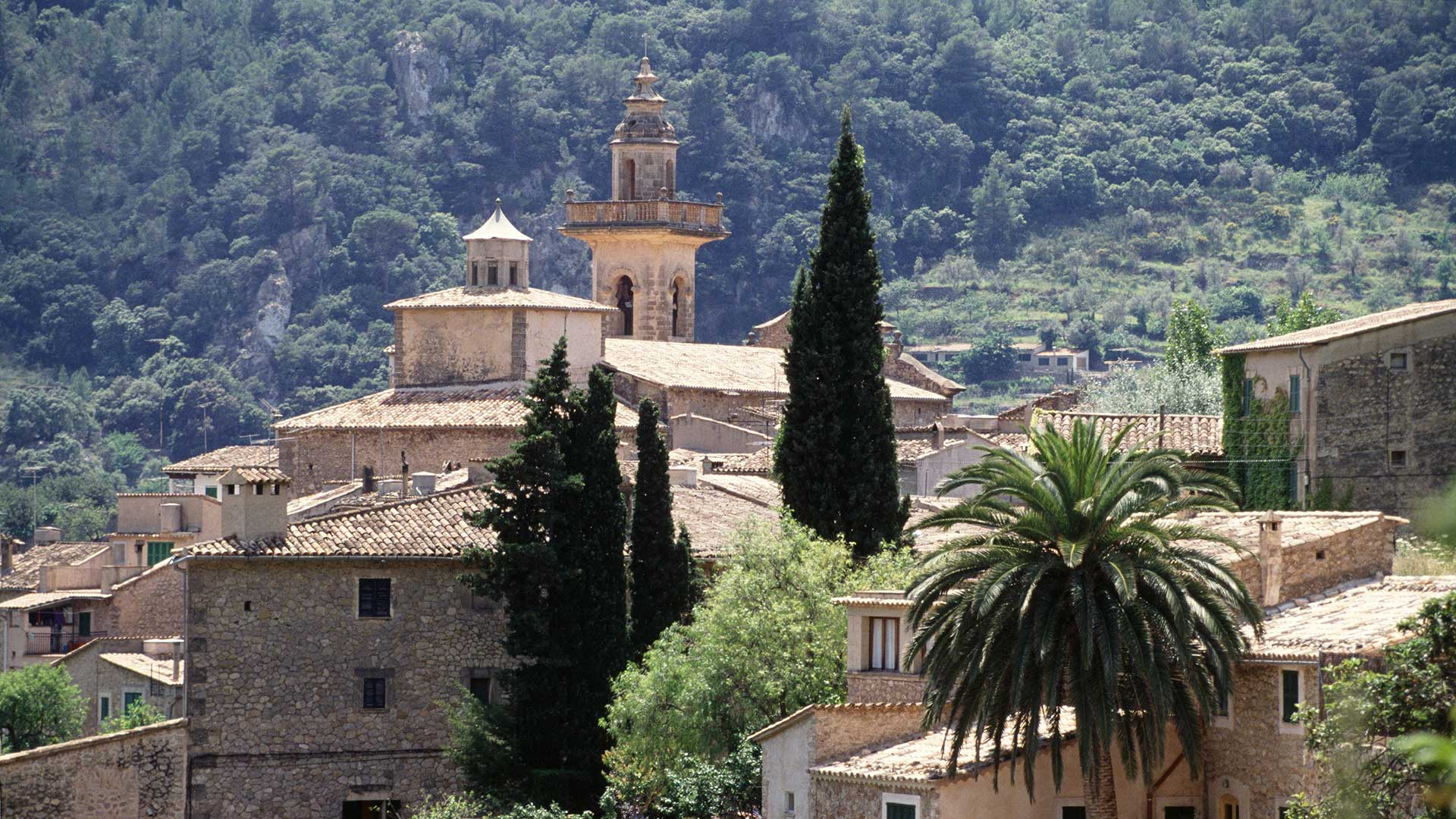 Imagen  You're not in a picture frame, but almost. Welcome to Valldemossa!