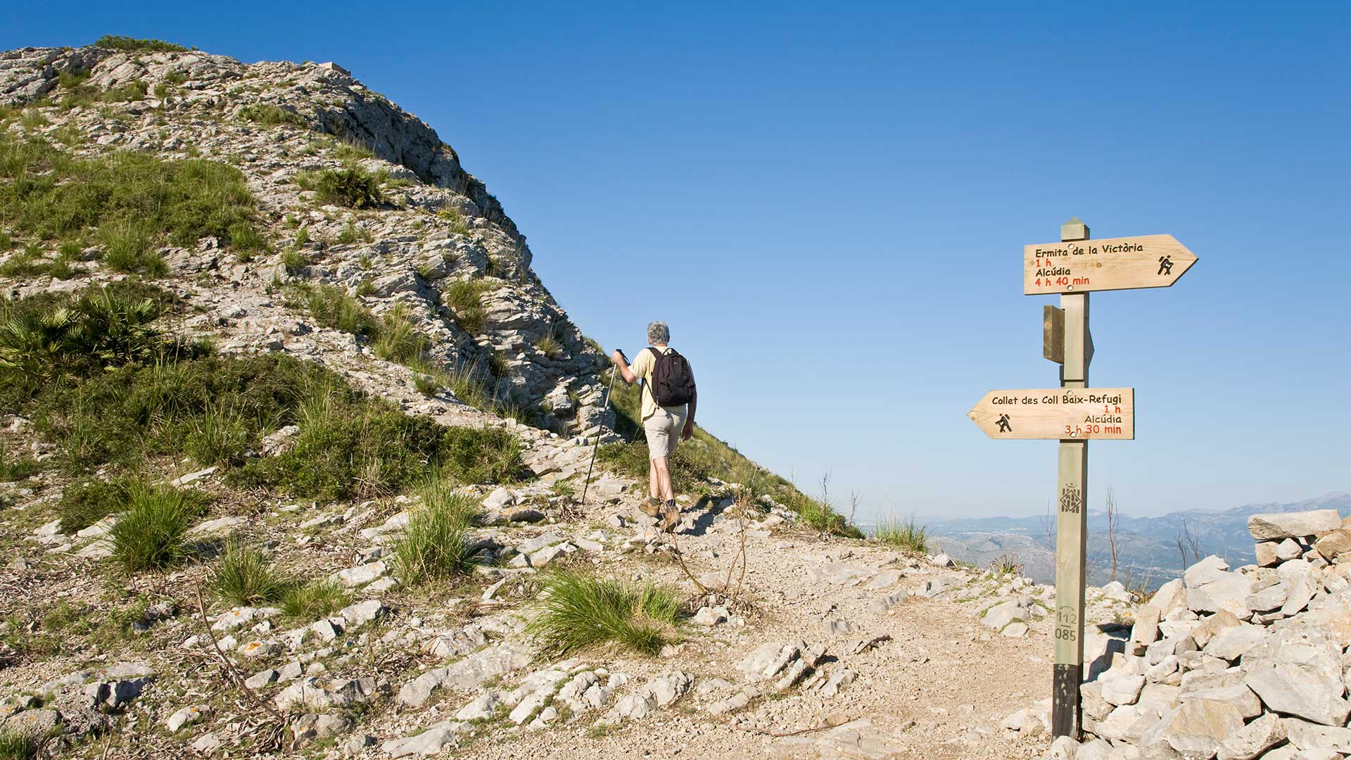 Imagen  Long distance trails on Mallorca