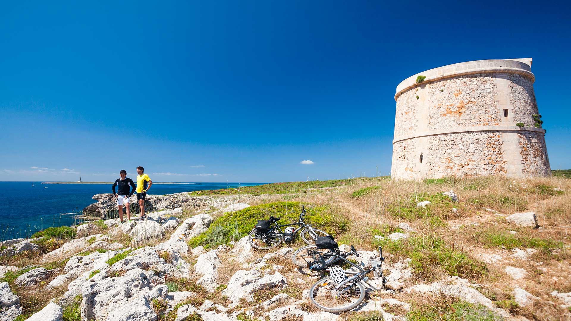 Imagen  Grandes recorridos en Menorca
