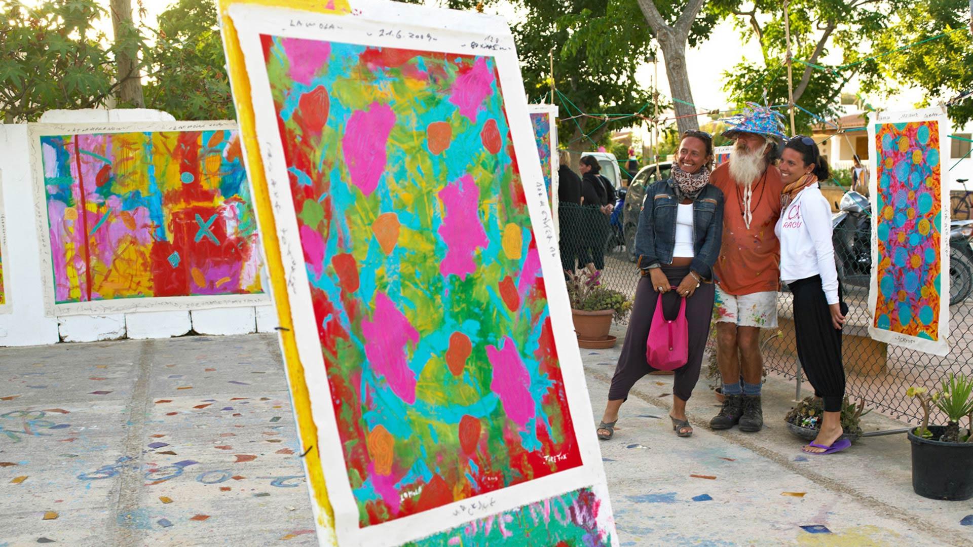 Imagen Mercat artesanal Hippy Market de La Mola