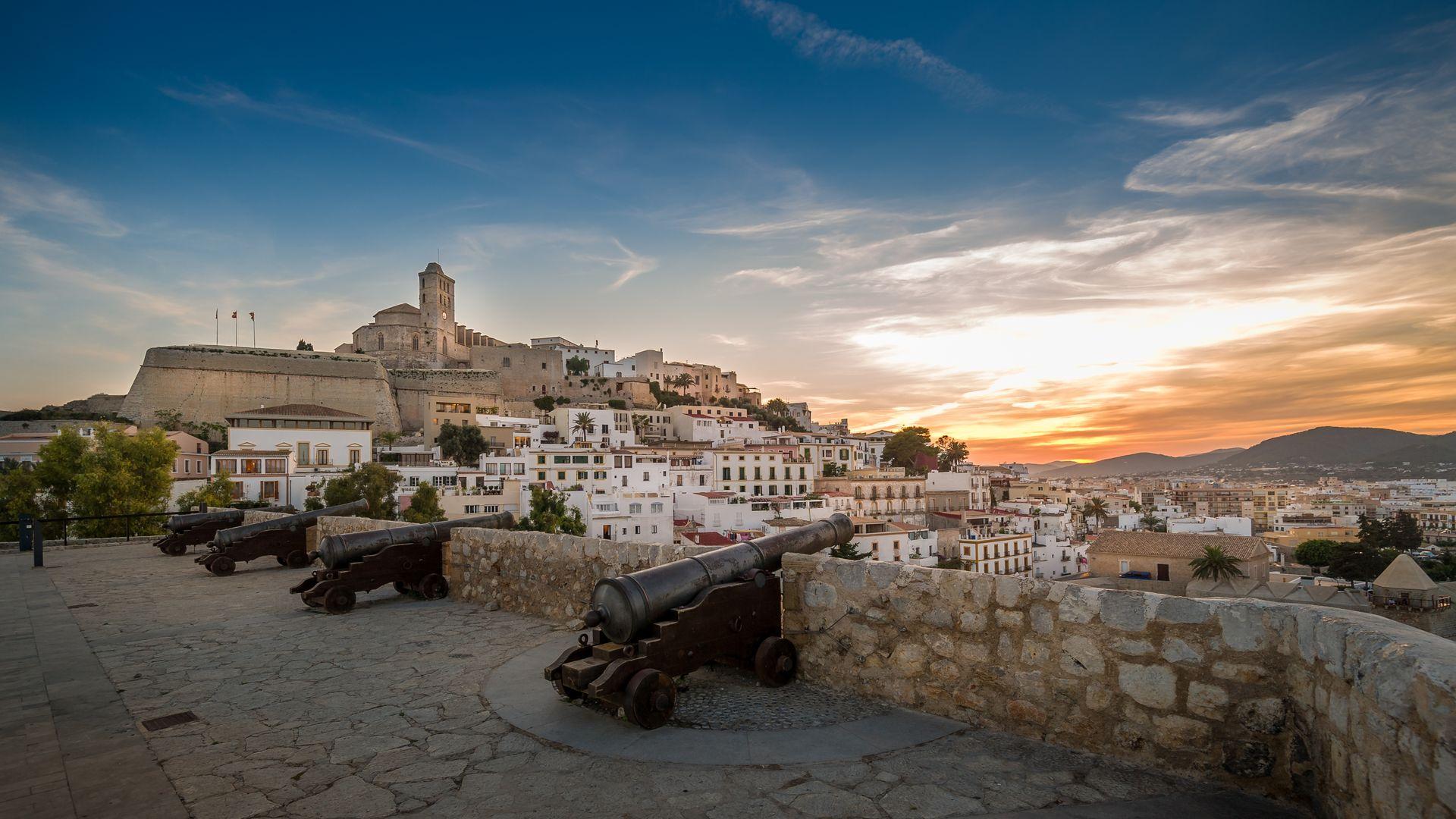 Yacimiento arqueológico Dalt Vila en Ibiza