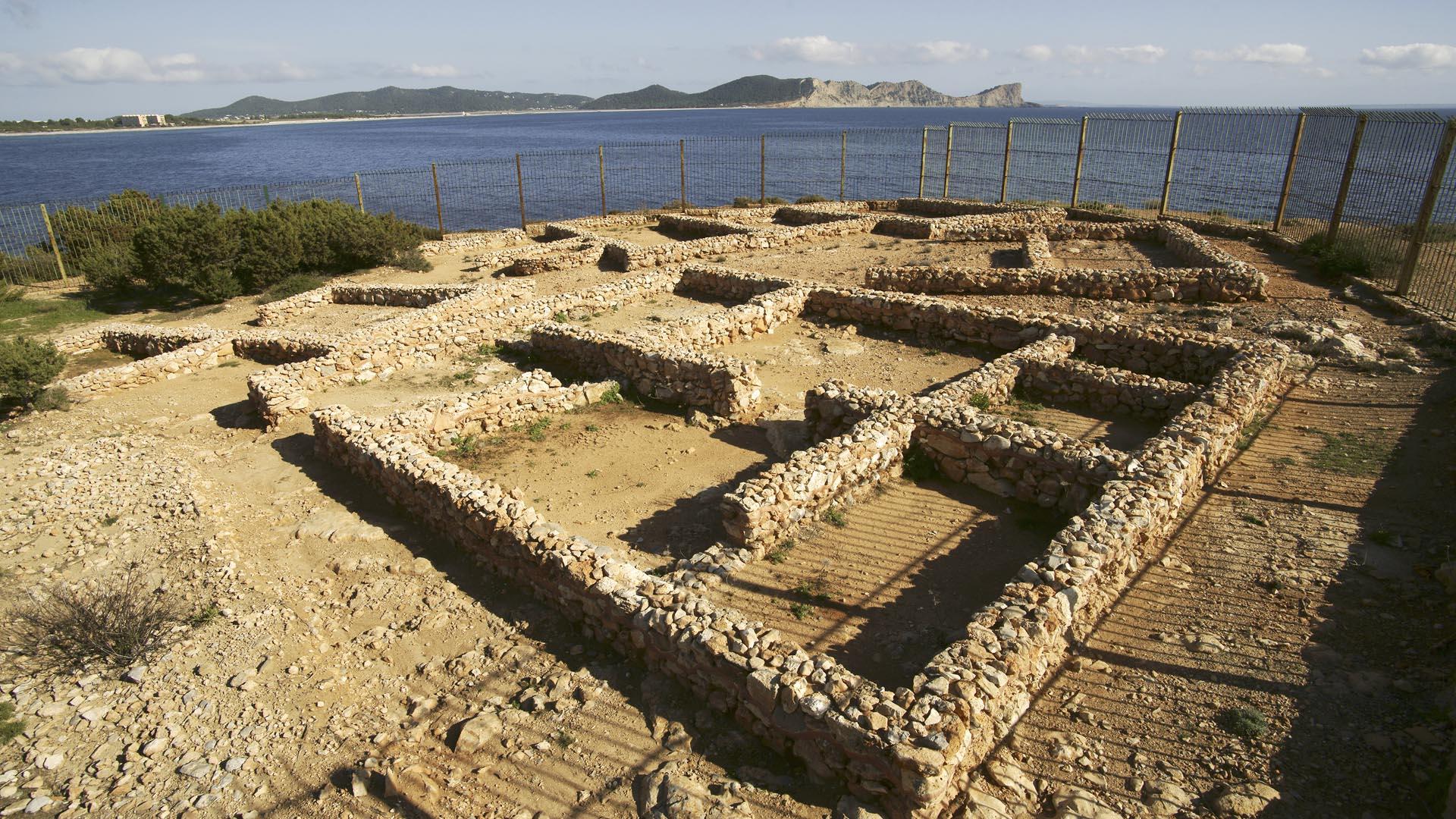Imagen Yacimiento arqueológico Poblat fenici de sa Caleta