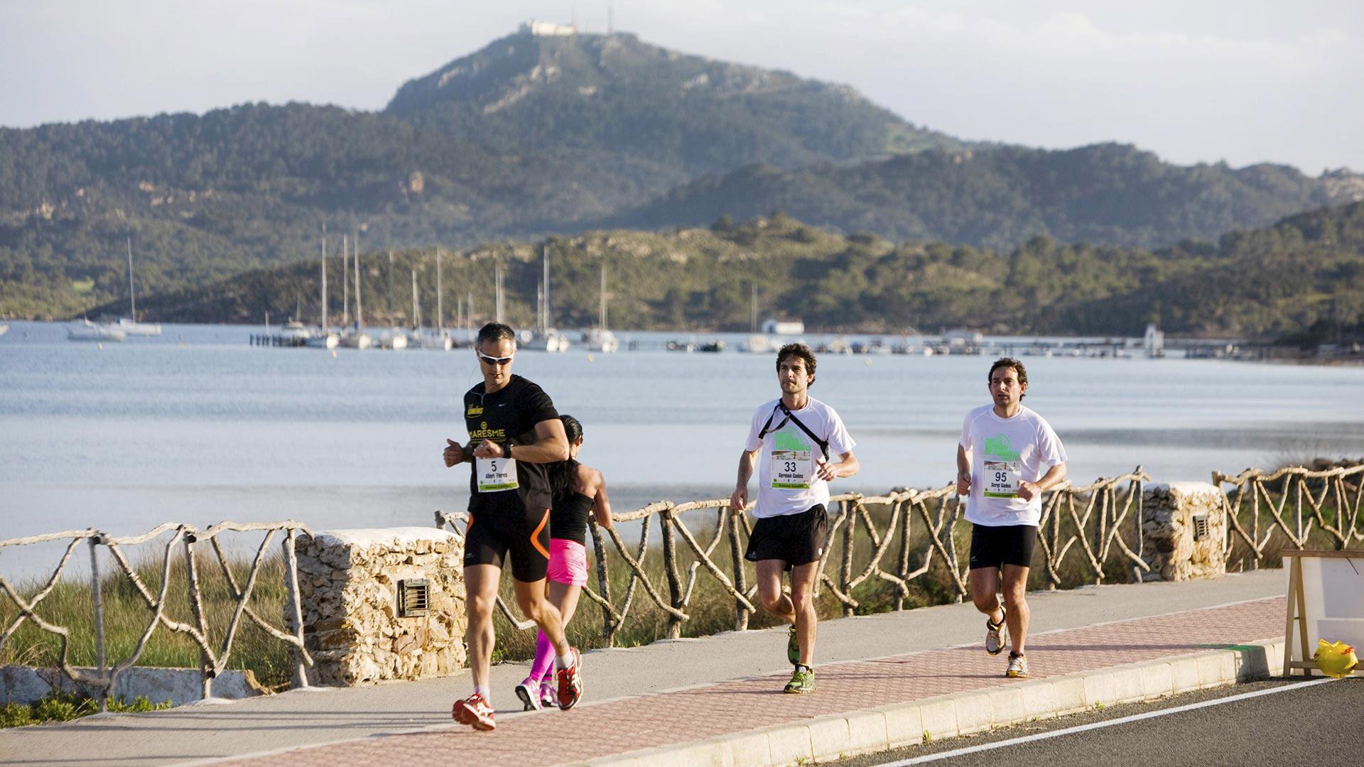 Imagen Esdeveniment Media Maratón Illa de Menorca