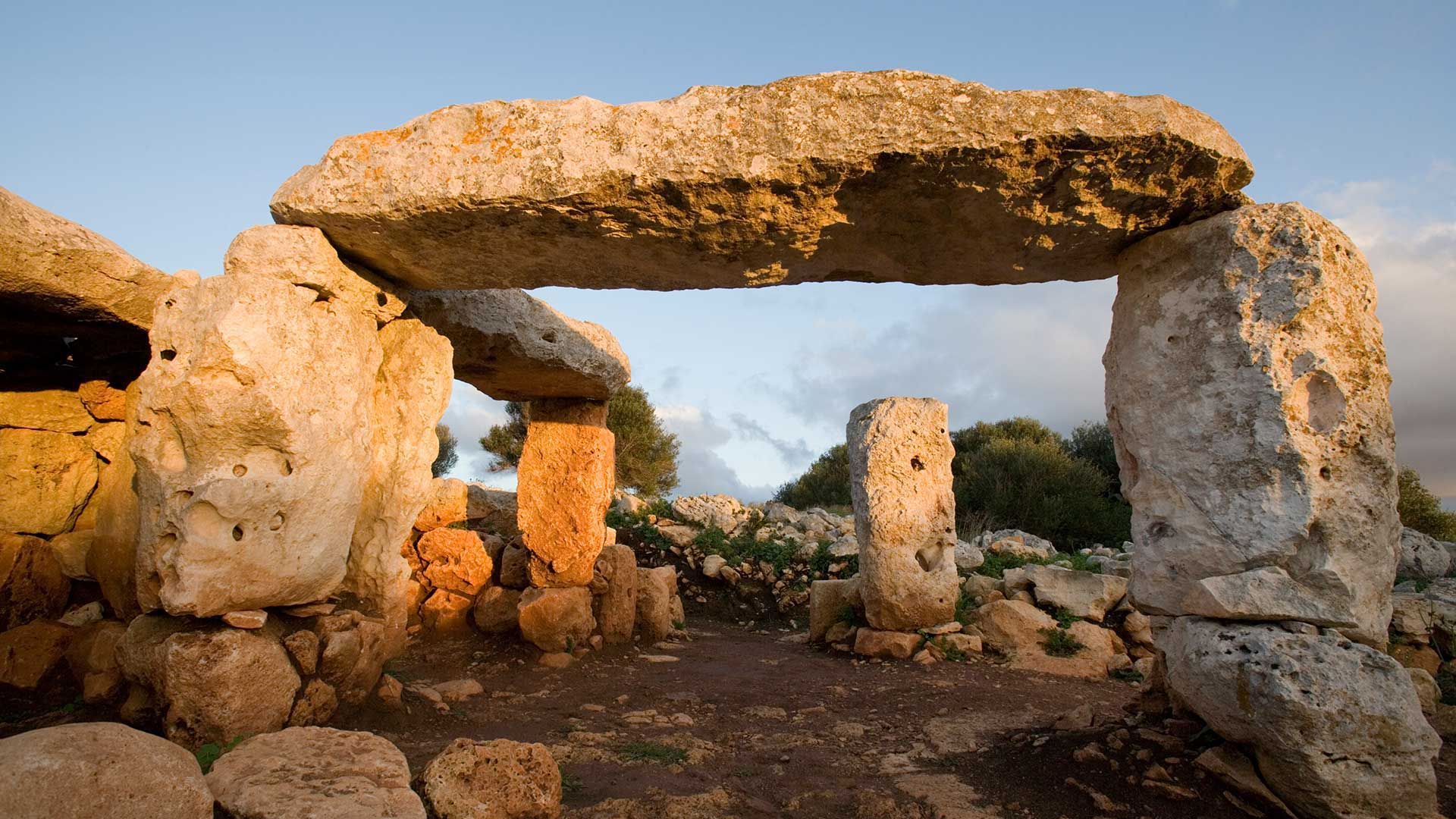 Imagen Jaciment arqueològic Poblat de la Torre d'en Galmés